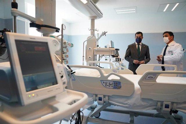 Jaén.- Moreno destaca las mejoras acometidas en el Hospital de Úbeda, tras unas reformas valoradas en 2,6 millones