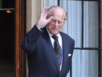 Felipe de Edimburgo, marido de la Reina Isabel II, hospitalizado