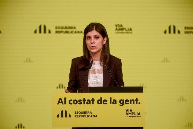"""AMP.- 14F.- ERC quiere un gobierno catalán """"cuanto antes mejor"""" e insiste en incluir a los comuns"""
