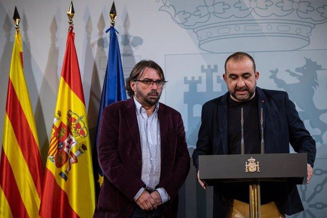 Archivo - Pacheco se reúne con Junqueras para exponer las propuestas de CC.OO. para la reconstrucción
