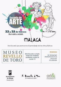 Málaga.- El Museo Revello de Toro ofrece una escuela de Semana Blanca para niños