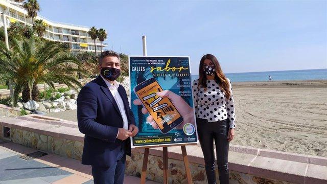 Empresarios de Torremolinos (Málaga) impulsan una 'app web' con tres rutas turísticas