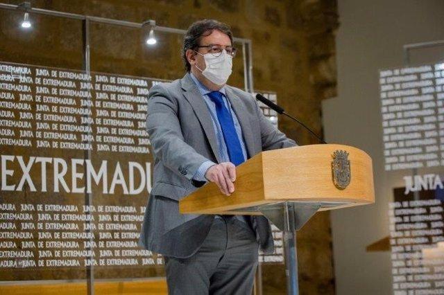 AV.- Extremadura ampliará horario de hostelería y comercio el sábado si la incidencia continúa por debajo de 250 casos