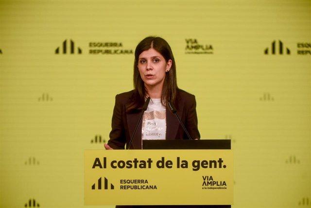 """ERC reprocha a Sánchez comparar a Junts y Vox y exige un """"rechazo explícito a la ultraderecha"""""""