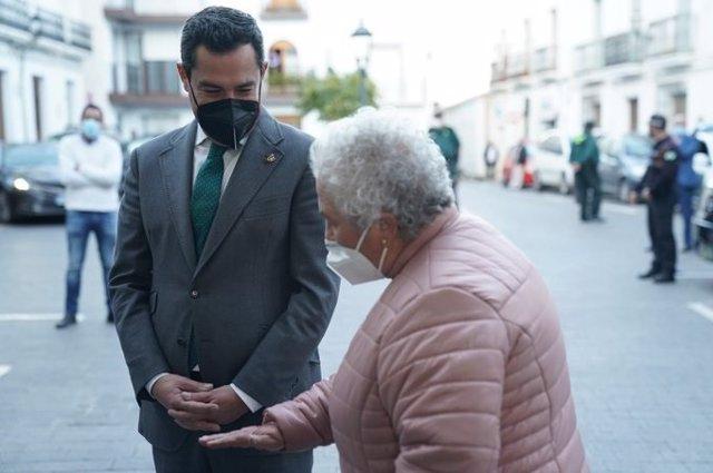 Moreno pone en valor en Abla (Almería) a los municipios de interior como grandes vertebradores de Andalucía