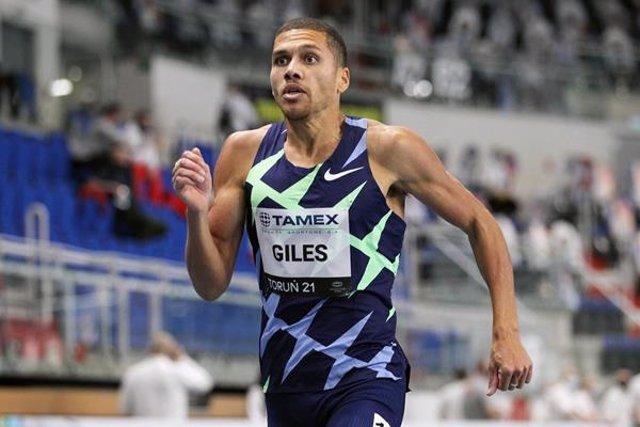 El corredor británico Elliot Giles