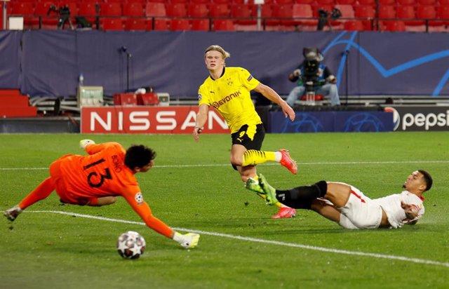 Fútbol/Champions.- Crónica del Sevilla - Borussia Dortmund, 2-3