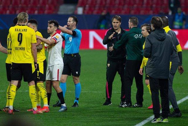 """Fútbol/Champions.- Lopetegui: """"Es un castigo demasiado grande perder este partido"""""""