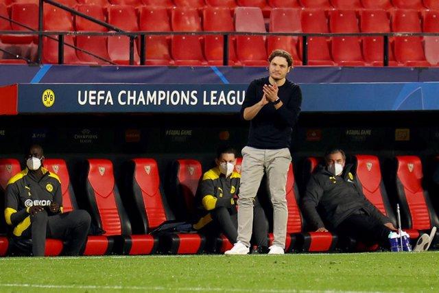 """Fútbol/Champions.- Terzic (Dortmund): """"Hemos hecho uno de nuestros mejores partidos de la temporada"""""""