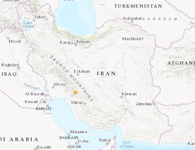 Irán.- Heridas cerca de 40 personas a causa de un terremoto de magnitud 5,6 en el suroeste de Irán