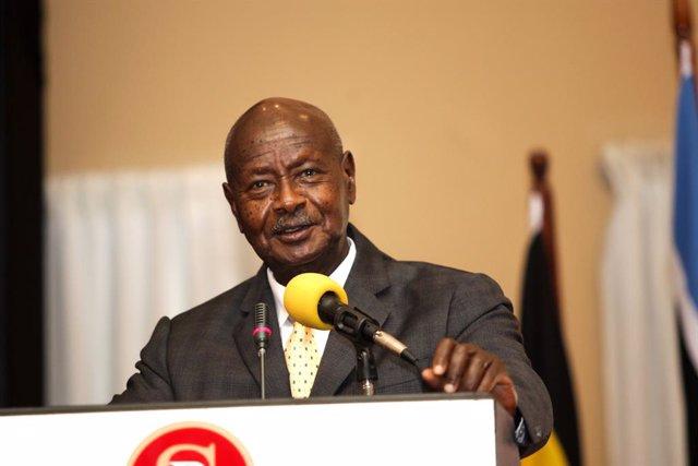 Archivo - Uganda.- La ONU y EEUU condenan una carga de las fuerzas de Uganda que dejó varios periodistas heridos en Kampala