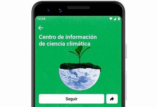 Facebook lanza en España su Centro de Información para desmentir los mitos sobre el cambio climático