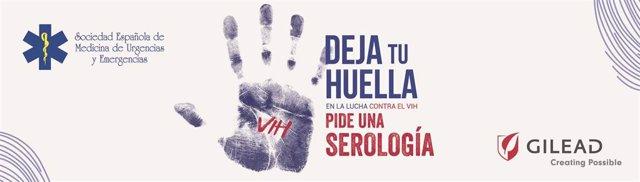 SEMES, con la colaboración de Gilead, lanza la web 'Deja tu Huella' en la lucha contra el VIH