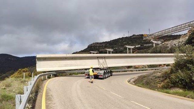 Obras en el Puerto de Querol