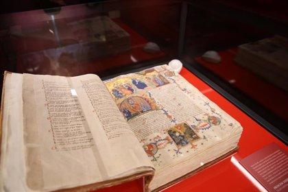 Códices de lujo, textos jurídicos y obra religiosa, ejemplos de literatura catalana medieval en la Biblioteca Nacional