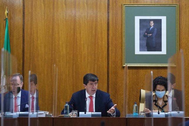 Marín subraya eliminación de 55 entes instrumentales mientras acaban las auditorías, que estarán en el primer trimestre