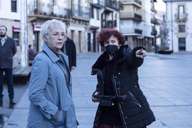 Icíar Bollaín narra la historia de Maixabel Lasa en su nueva película, que rueda en escenarios de Gipuzkoa y Álava