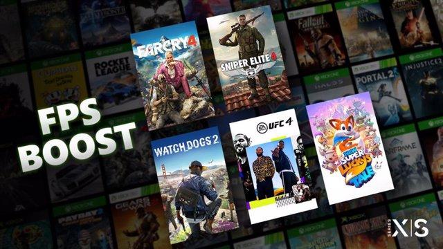 Portaltic.-FPS Boost, la tecnología que duplica los fps de juegos retrocompatibles con Xbox Series X/S