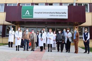 Foto: El Hospital Reina Sofía de Córdoba realiza el primer trasplante autólogo de progenitores hematopoyéticos en domicilio