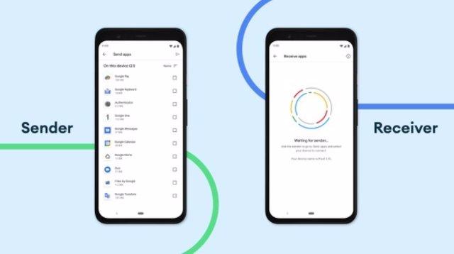 Ya se pueden enviar aplicaciones de Play Store entre dispositivos Android cercanos usando Nearby Share