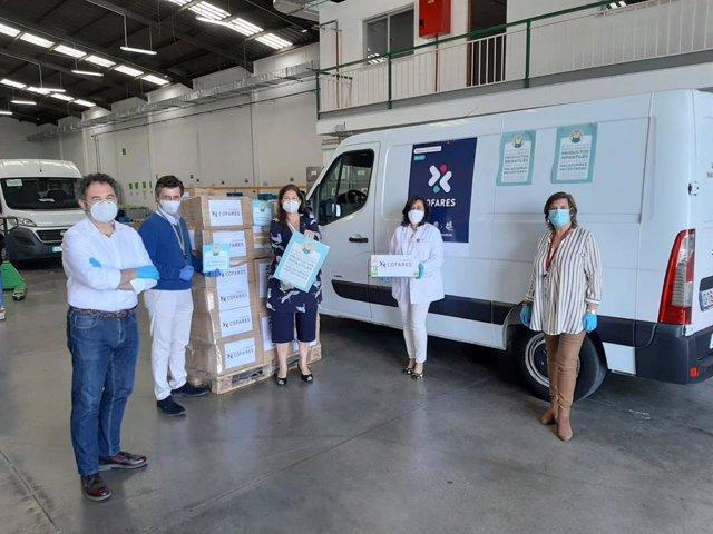 Fundación Cofares realiza 100.000 donaciones de fármacos, alimentos y material sanitario en el primer año de pandemia