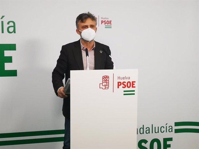 """Huelva.-PSOE-A ve """"lógico"""" que un sector pida agilidad para el congreso provincial pero remarca la situación de pandemia"""