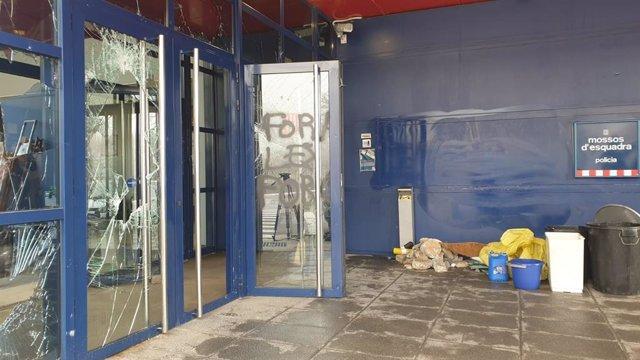Libertad provisional para tres detenidos en los altercados de Vic (Barcelona)