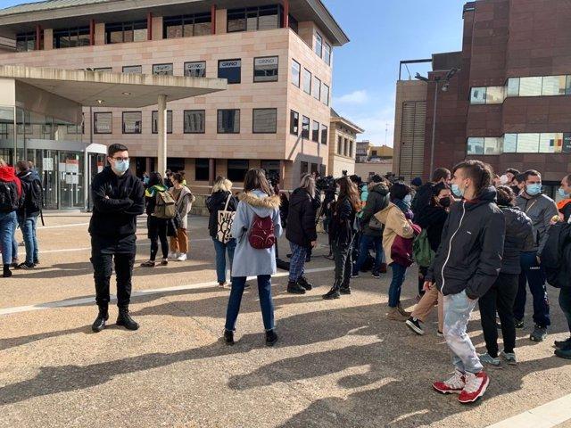 En llibertat set detinguts a Lleida durant els aldarulls de dimarts per l'empresonament de Hasél
