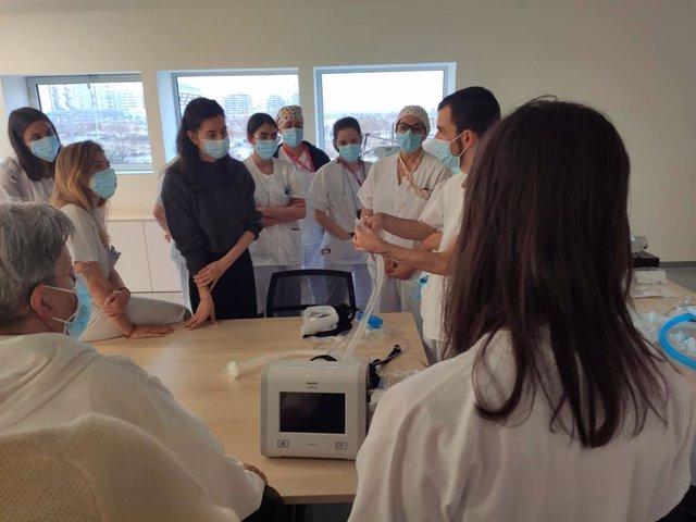 Philips colabora en la formación de profesionales del Hospital de Emergencias Enfermera Isabel Zendal.