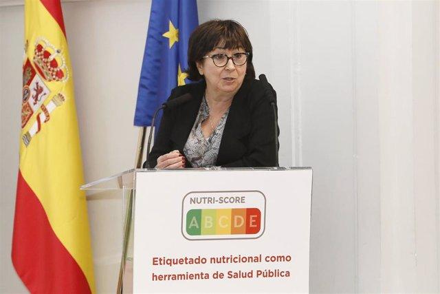 Archivo - La médico y nutricionista Pilar Galán, miembro del equipo que diseñó y desarrolló el etiquetado nutricional frontal Nutri-Score.