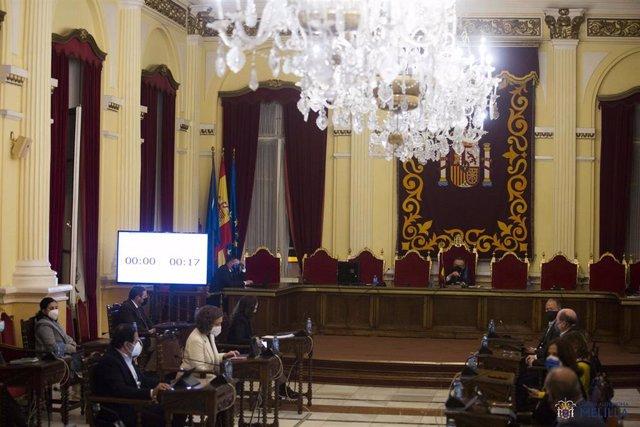 Pleno de Presupuestos de Melilla