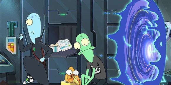 1. Desternillante tráiler de Solar Opposites, la nueva serie del creador de Rick y Morty en Disney+