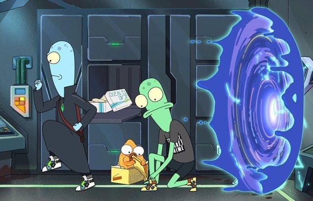 Desternillante tráiler de Solar Opposites, la nueva serie del creador de Rick y Morty en Disney+