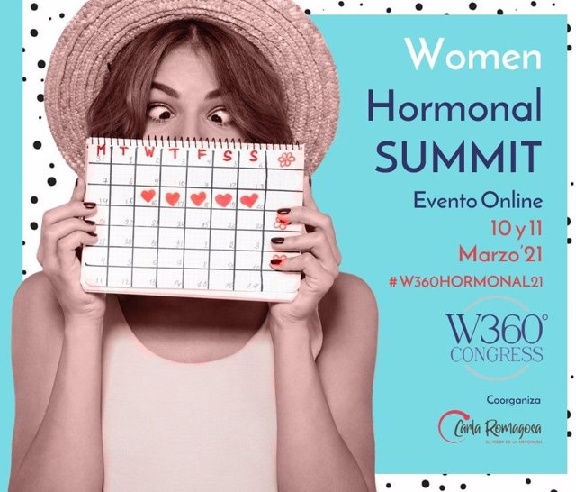 Cartel del Women Hormonal Summit