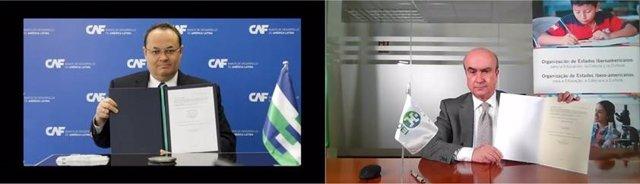 Archivo - CAF y la OEI se alían para promocionar los ecosistemas de innovación en América Latina
