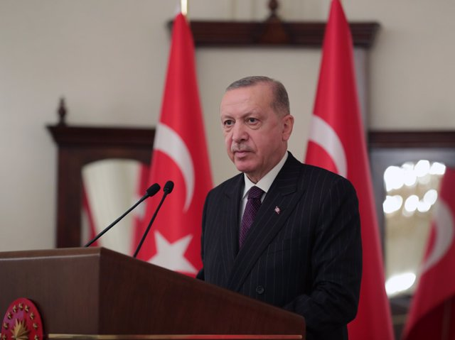 Archivo - El presidente turco, Recep Tayyip Erdogan.