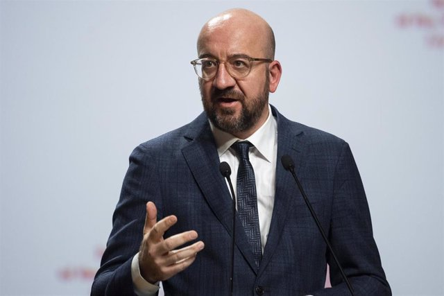 El prseidente del Consejo Europeo, Charles Michael.