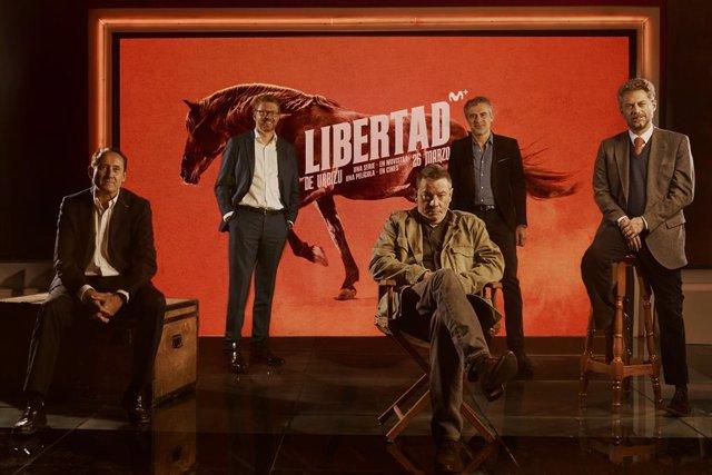 Presentación de Libertad, el proyecto de Enrique Urbizu para cine y televisión