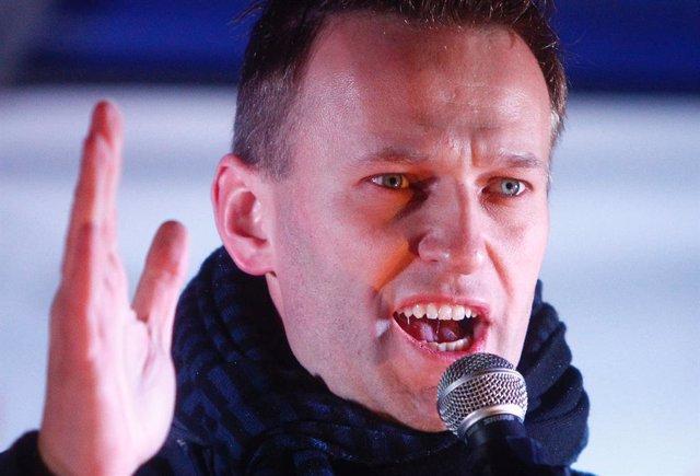Archivo - El opositor ruso Alexei Navalni