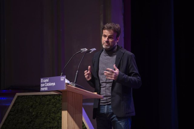 El president del grup parlamentari d'Unides Podem al Congrés, Jaume Asens