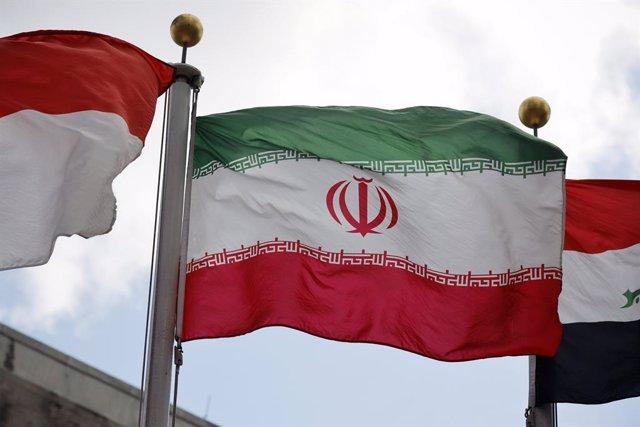 Archivo - Bandera de l'Iran