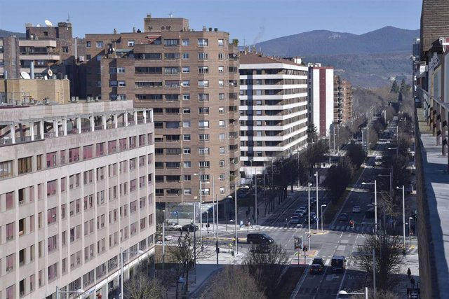 Avenida de Pío XII de Pamplona
