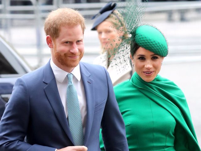 Archivo - Prince Harry, Duke of Sussex and Meghan, Duchess of Sussex attend the Commonwealth Day Service 2020 at Westminster Abbey
