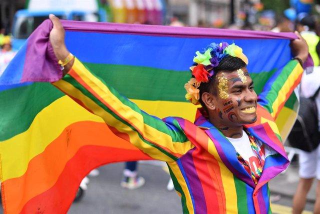 Archivo - Desfile del Orgullo Gay en Londres