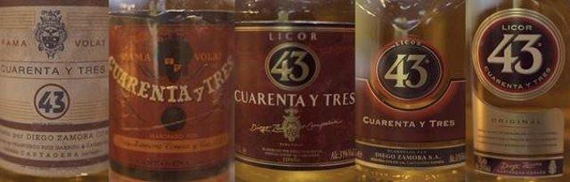 Botellas de Licor 43