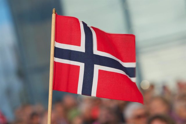 Archivo - Bandera de Noruega