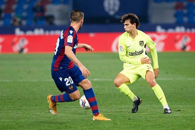 Joao Felix en el Levante - Atlético