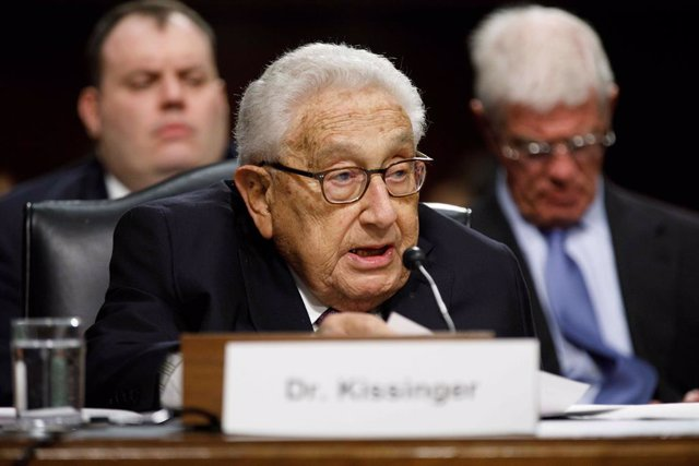 El antiguo secretario de Estado Henry Kissinger