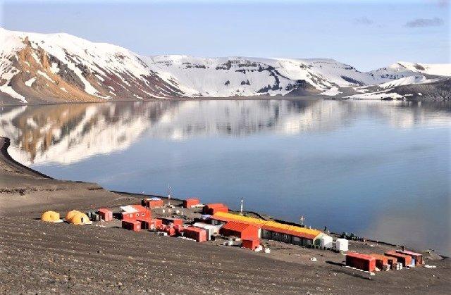 Base Gabriel de Castilla del Ejército de Tierra en la Antártida.