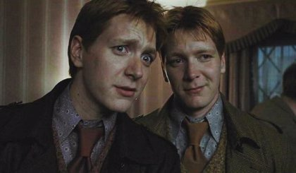 Harry Potter: La confesión más divertida de los gemelos Weasley (James y Oliver Phelps)
